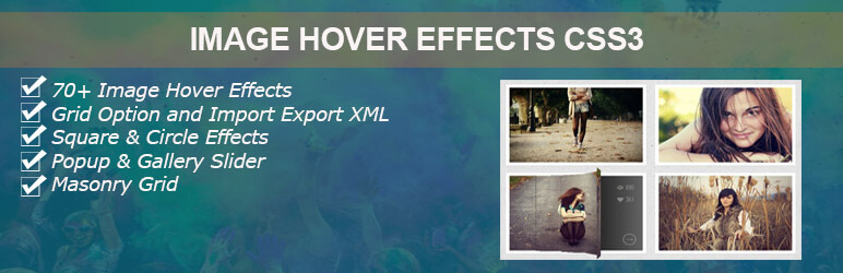 Image Hover Effects Css3