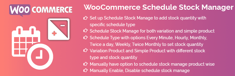 WooCommerce Schedule Stock Manager5